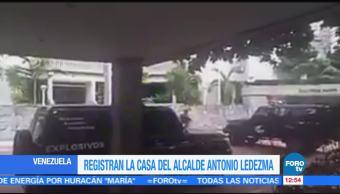 Policías de Venezuela registran casa del opositor Antonio Ledezma