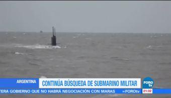 Desaparece submarino argentino con 41 personas abordo