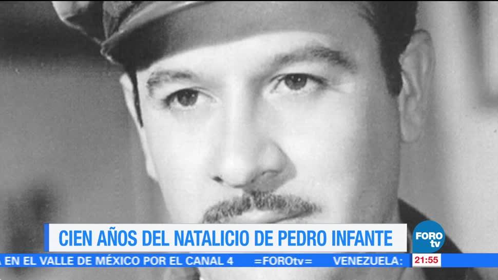 Cien años del natalicio de Pedro Infante