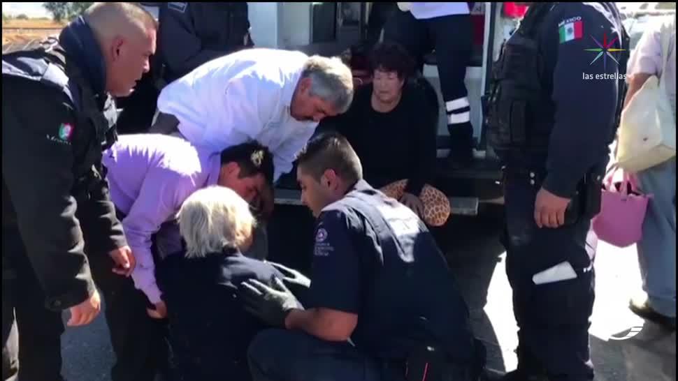 Accidente en Zacatecas deja más de 40 heridos