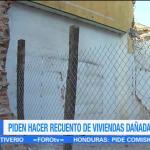 Oaxaca solicita hacer un recuento de viviendas dañadas en Juchitán