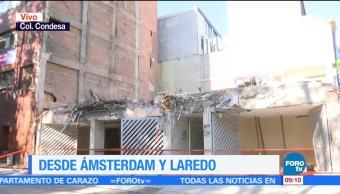 Inmueble de Ámsterdam y Laredo a dos meses del sismo del 19-S
