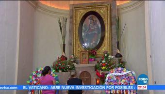 Fieles católicos festejan a la Virgen de Balvanera en Sonora