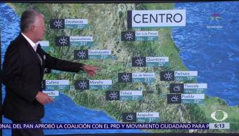 Se mantiene descenso de la temperatura en gran parte del país