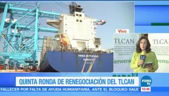 Servicios financieros, entre temas de la quinta ronda de renegociación del TLCAN
