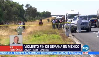 El alza de la violencia en México
