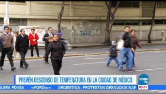Frente frío 11 provoca descenso de temperatura en gran parte del país