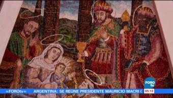Preservan Mosaico Bizantino en Tecámac, Estado de México
