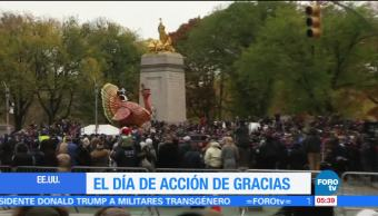 Intensifican seguridad en NY por 'Thanksgiving'