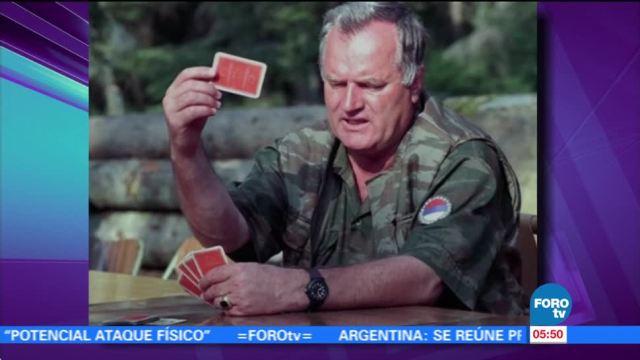 Condenan por genocidio a Ratko Mladic