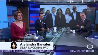 Alejandra Barrales expone en Despierta la agenda del Frente Ciudadano por México