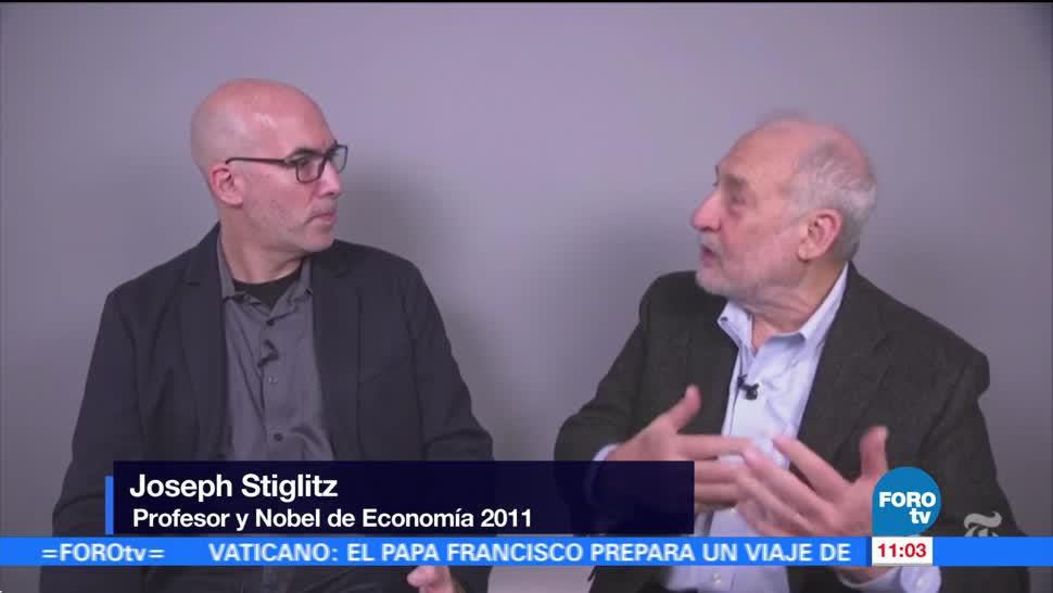 Joseph Stiglitz critica la política económica de Donald Trump
