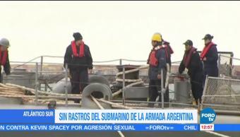 Continúa la búsqueda de submarino ARA San Juan