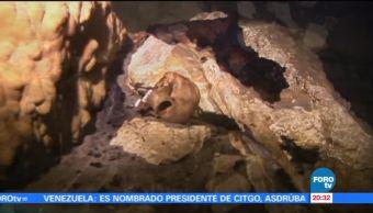 Hallan ofrenda mortuoria en Chichén Itzá Yucatán