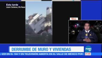 Desalojan edificios aledaños a construcción colapsada en Monterrey
