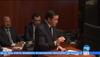 Osorio Chong comparece ante el Senado