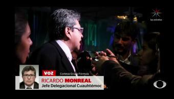 Monreal dejará la delegación Cuauhtémoc, pero no sabe cuándo