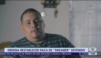 Tribunal de Los Angeles ordena restaurar beneficios DACA a dreamer detenido