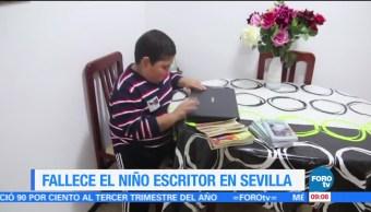 Fallece el niño escritor en Sevilla