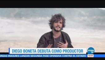 #LoEspectaculardeME: Diego Boneta debuta como productor