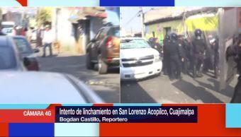 Intento de linchamiento en San Lorenzo Acopilco, Cuajimalpa