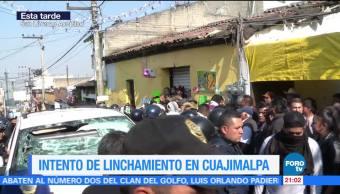 Intento de linchamiento en Cuajimalpa en la CDMX