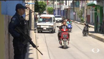 La calle de los 15 asesinatos en Chilapa