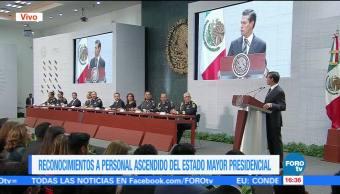 Epn Reconoce Personal Estado Mayor Presidencial Enrique Peña Nieto