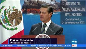 EPN decreta Parque Nacional a las Islas Revillagigedo