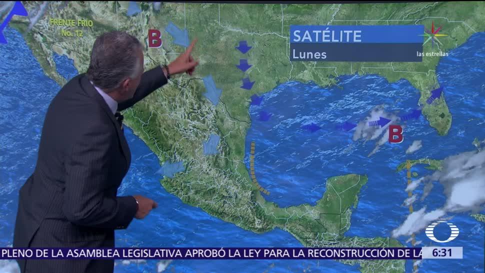 Despierta con Tiempo: Canal de baja presión disminuye temperaturas