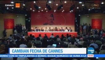 #LoEspectaculardeME: Cambian de fecha el festival de Cannes