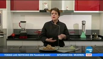 Receta de mousse de salmón y mousse de cacahuate y chile verde