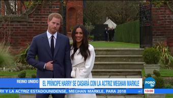 Príncipe Enrique y Meghan Markle contraerán matrimonio en 2018