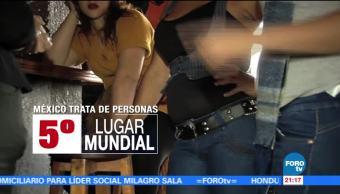 Lucha contra la trata de personas en México