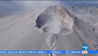 Volcán Popocatépetl, el más vigilado del mundo