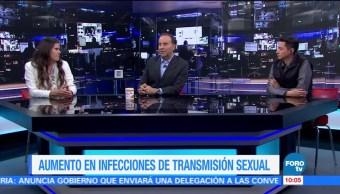 El aumento en las infecciones de transmisión sexual