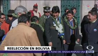 Tribunal retira restricciones que impedían reelección de Evo Morales en Bolivia