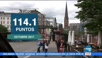 Aumenta la confianza económica en la zona euro