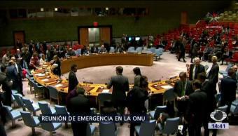 Reunión en la ONU por lanzamiento de misil norcoreano