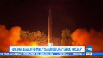 Difunden imágenes del misil norcoreano Hawsong-15