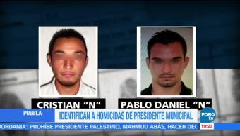 Identifican a presuntos homicidas de edil de Puebla