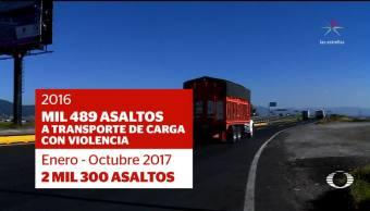 Se agrava en México el robo al transporte de carga