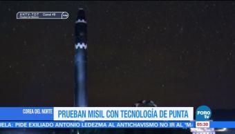 Corea del Norte prueba nuevo misil Hawsong-15