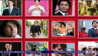 Se vende calendario con imágenes graciosas de Justin Trudeau