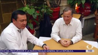 Osorio Chong se reunió con Meade en un restaurante de la CDMX