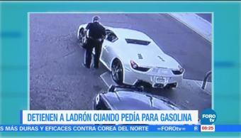 Extra Extra: Detienen a ladrón cuando pedía para gasolina