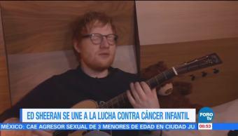 #LoEspectaculardeME: Ed Sheeran se une a lucha contra cáncer infantil