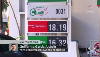 Liberados los precios de gasolinas y diésel