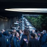 huelga paraliza vialidades cataluna apoyo secesionismo