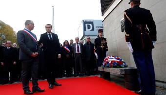 macron homenajes victimas atentados 13-n francia